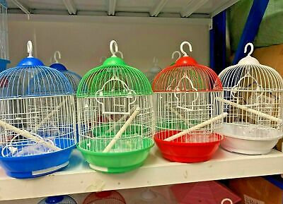 £13.99 • Buy Birds Cages Corfe Budgie Finch Bird Cage With Hook Budgies Canary Home Pet Uk