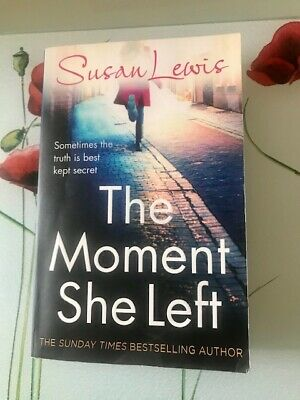 £2 • Buy PAPERBACK BOOK:  THE MOMENT SHE LEFT By SUSAN LEWIS