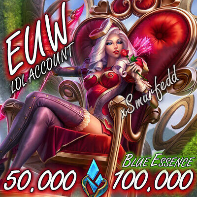 £2.49 • Buy 💖 EUW League Of Legends LOL Account 20.000 - 100.000 BE Unranked Smurf Level 30
