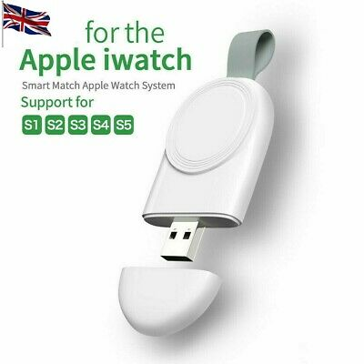$ CDN10.28 • Buy For Apple I Watch Series SE 6/5/4/3/2/1 Portable USB Wireless Charger Keychain