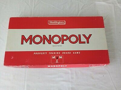£9.95 • Buy Monopoly Board Game Vintage 1984 By Waddingtons *100% Complete