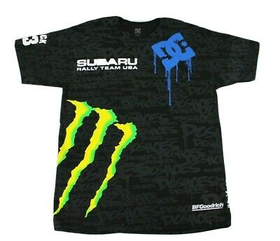 £23.62 • Buy Dc Subaru Monster Drink T-shirt All Over Print Size Large
