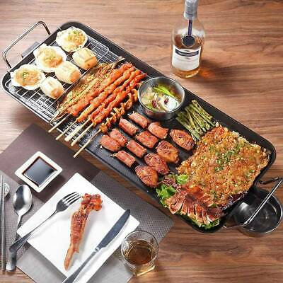 £26.89 • Buy 1360W Electric Grill Pan BBQ Barbecue Griddle Camping Cooking Indoor Outdoor