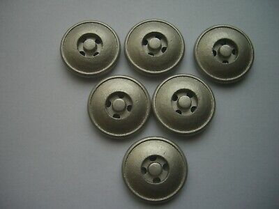 £2.40 • Buy MATT SILVER / PEWTER EFFECT 4 HOLE  BUTTONS  X 6 FREE P&P