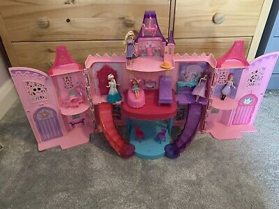 £34.99 • Buy Barbie The Princess And The Popstar Musical Light Up Castle Playset