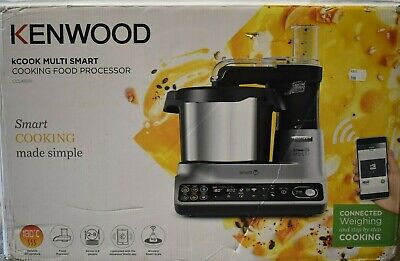 View Details Kenwood CCL450SI KCOOK MULTI SMART Cooking Food Processor Silver EU NEW • 599.99£
