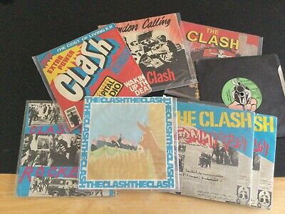 £55 • Buy Collection Of The Clash Vinyl Singles
