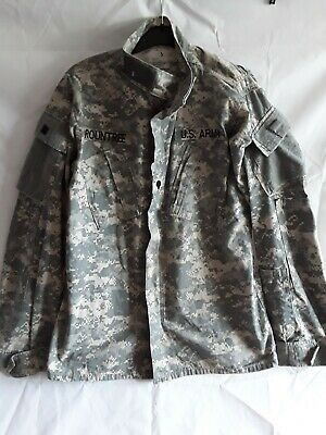 $18.07 • Buy US Army Military Clothing Combat Jacket Size Small Long Chest 33 To 37 Inch