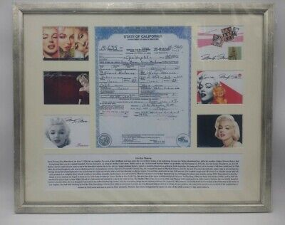 £12.99 • Buy Picture Marilyn Monroe Image Framed Collectable Memorabilia