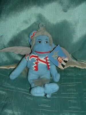 £24.99 • Buy The Wizard Of Oz The Flying Monkey 9   Beanie Plush Soft Toy With Tag (b)