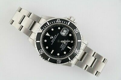 $ CDN12385.43 • Buy Men's Rolex Submariner 16610T Stainless Steel Oyster Band Black Dial Year 2007