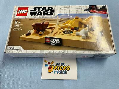 AU52.99 • Buy Lego Star Wars Exclusive 40451 Tatooine Homestead New/Sealed/Hard To Find