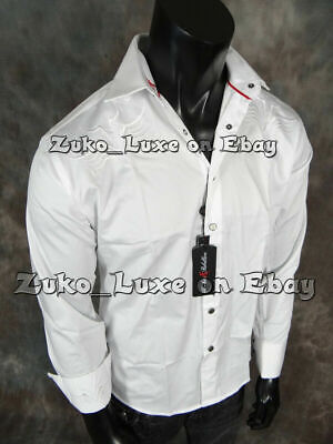 $44.95 • Buy Mens Absolute Rebellion White Shirt Western Rodeo Embroidered Snap Front Blade