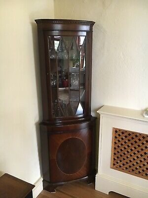 £10 • Buy Two Tier Drinks Cabinet In Reproduction Mahogany