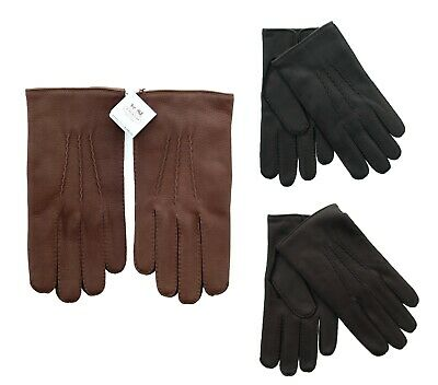 $79.99 • Buy Coach Leather Winter Gloves, Men's Deerskin Leather, Cashmere Lined, 83896 $148