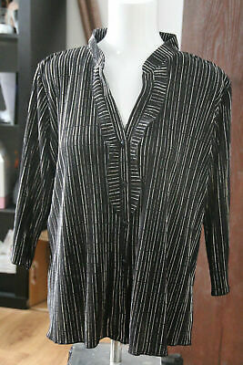 £4.99 • Buy  Sale!!!   FOREVER BY MICHAEL GOLD BLOUSE SIZE XL.