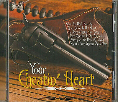 £1.99 • Buy CD - YOUR CHEATIN' HEART - BALLADS - NEW & SEALED - CHARLIE FEATHERS Etc.