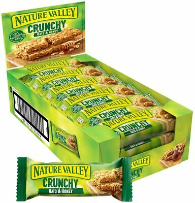 £13.39 • Buy Nature Valley Crunchy Oats & Honey Cereal Bars 18 X 42g UK New