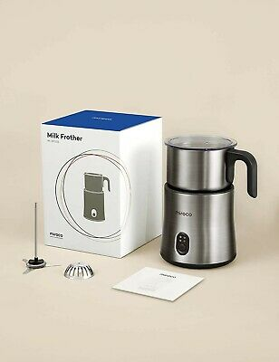 $45 • Buy Detachable Milk Frother For Coffee, Miroco Electric Stainless Steel Milk Steamer