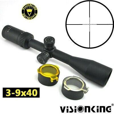 $46.98 • Buy Visionking 3-9x40 Rifle Scope For Target Shooting Hunting Military Mil-dot Sight