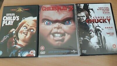 £8 • Buy Childs Play DVDS X 3, Excellent Condition