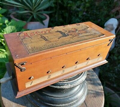 £150 • Buy Antique Victorian Jaques & Son Ascot Horse Racing Game London Rare