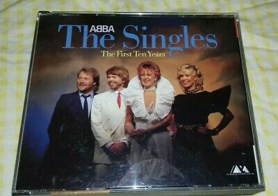 £65 • Buy ABBA- The Singles First Ten Years West Germany Blue Polar 1983 CD -No Barcode Ex