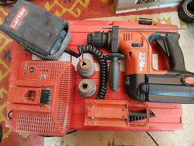 £165 • Buy Hilti TE 6-A36 AVR SDS Cordless Rotary Hammer Drill + Charger & Case.