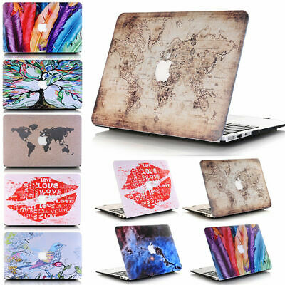 £43.66 • Buy Cut Out Design Hard Case Cover Keyboard Skin For Macbook Air 13 A1369 A1466