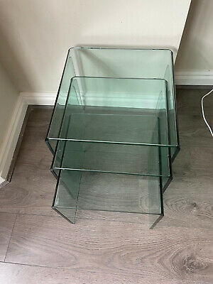 £90 • Buy Glass Nest Of Tables