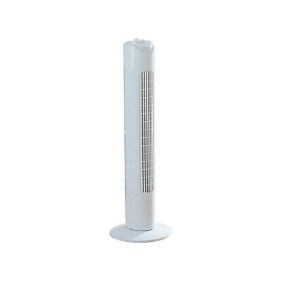 £24.95 • Buy 32  Tower Fan Slim Cooling Fan For Home Office 2 Hour Timer Oscillating 3Speed
