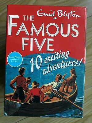 £15 • Buy The Famous Five Collection - Boxed Set Of 10 BooksEnid Blyton