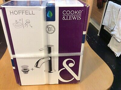 £26 • Buy Cooke & Lewis Hoffell Basin Mixer With Pop Up Waste