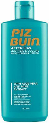 £13.13 • Buy Piz Buin After Sun Soothing & Cooling Moisturising Lotion 200ml - Cap Bottle