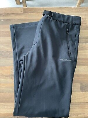 £12.50 • Buy Peter Storm Mens Black Softshell Trousers Size Small