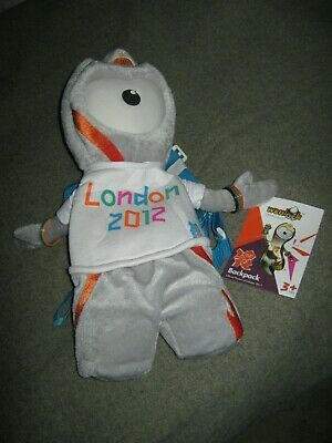 £3.99 • Buy London 2012 Olympic Mascot Backpack- WENLOCK. NEW With Tags.