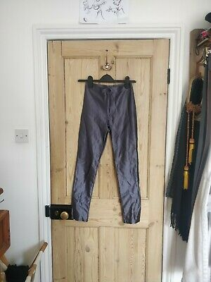 £15 • Buy American Apparel Silver Disco Pants Size Small
