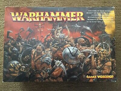 £11 • Buy Warhammer Marauders Of Chaos Regiment Mostly Complete