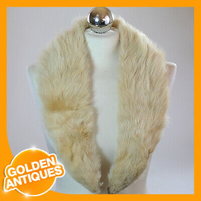 £12.99 • Buy Women's Winter Collar Scarf Tippet Scarve Shawl Stole Natural White Fox Fur