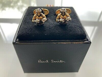 £45 • Buy BNWT Paul Smith Boxer / Boxing Cufflinks 'The Champ' RRP: £110
