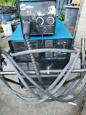 $2350 • Buy Miller CP-302 Welder With Miller 22A Wire Feeder And Cart