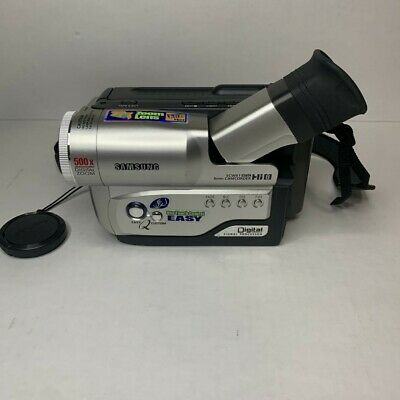 $ CDN174.99 • Buy Samsung SCW61 Hi-8mm Video Camcorder W/ Charger, Battery & Carry Case, Working