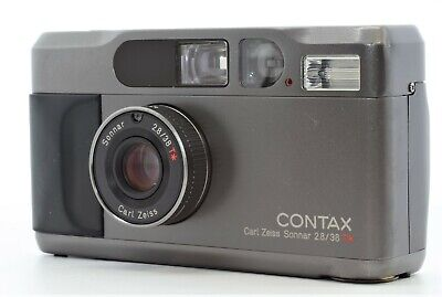 $ CDN681.99 • Buy 【As-is】 Contax T2 Black Point & Shoot Film Camera From JAPAN #Q21