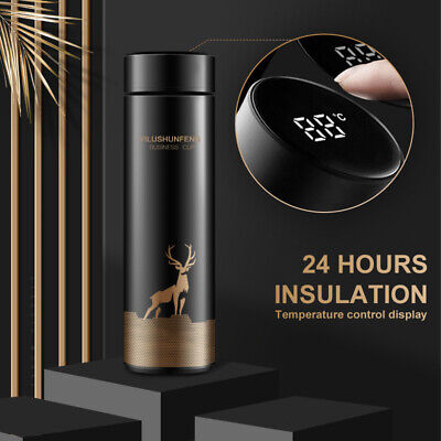 AU21.58 • Buy Insulated Travel Coffee Mug Cup Thermal Flask Vacuum Thermos Stainless Steel AU