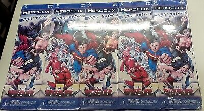 £59.99 • Buy Wizkids HeroClix Boosters Justice League Trinity War Sealed Brick Of 10 Boosters
