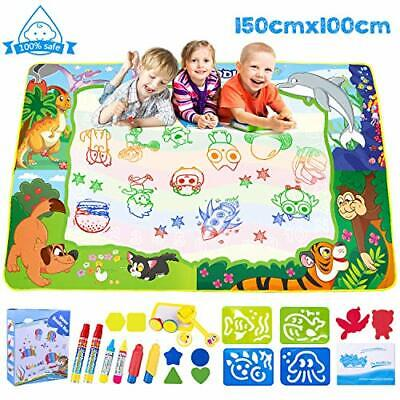 £27.36 • Buy Omew Water Doodle Mat, Water Drawing Mat Extra Large 150X100cm Mess Free Water