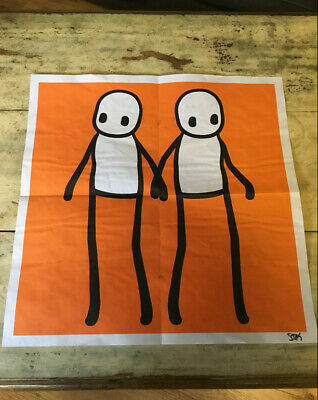 £290 • Buy DISCOUNTED STIK Poster SIGNED 'Hackney Today' Sept 2020 Poster