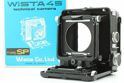 £707.98 • Buy [Mint In Box] Wista 45SP 4x5 Large Format Film Camera Rare S/N P234xx From JAPAN