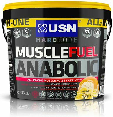 £49.99 • Buy USN Muscle Fuel Anabolic All-in-One Lean Muscle Gainer 4kg With Free Gift