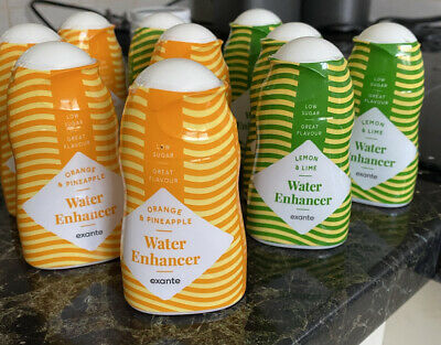 £18 • Buy EXANTE WATER ENHANCER X 6,PICK YOUR FLAVOURS